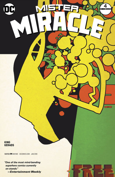 Mister Miracle (2017) #04 (Mitch Gerads Variant)
