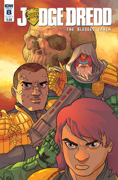 Judge Dredd: Blessed Earth #08