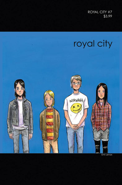 Royal City (2017) #07 (90s Album Homage Cover)