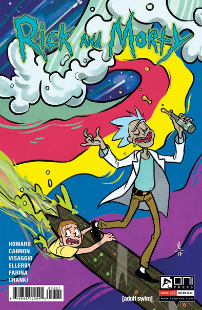 Rick and Morty #33 (Anissa Espinosa Variant)