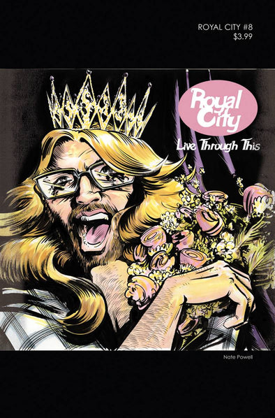 Royal City (2017) #08 (90s Album Homage Cover)