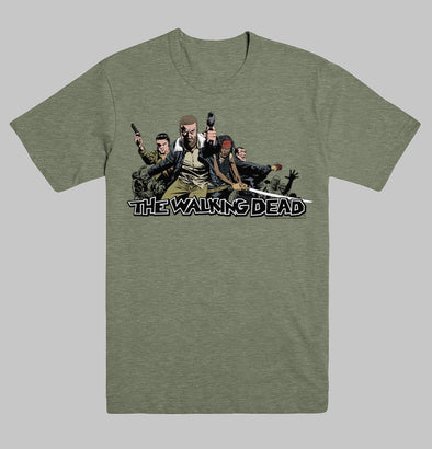 Walking Dead 2017 Ensemble Unisex T-Shirt