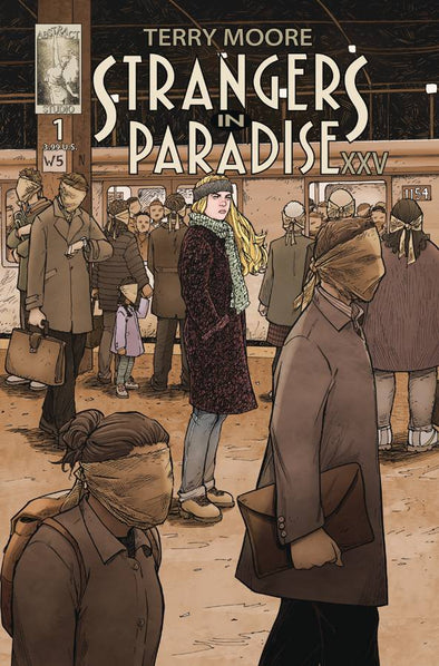 Strangers in Paradise XXV (2018) #01