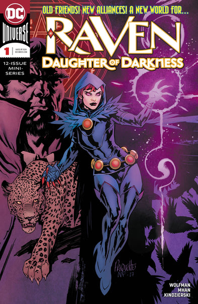 Raven: Daughter of Darkness (2018) #01