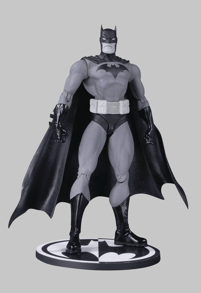 Batman Black & White Action Figure Hush By Jim Lee