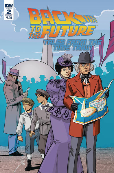 Back to the Future: Time Train (2017) #02