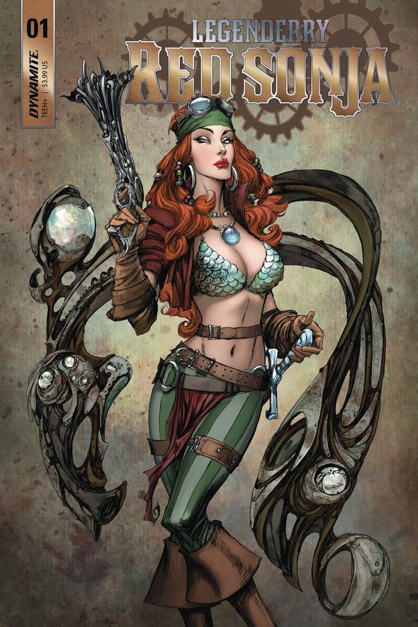 Legenderry Red Sonja (2018) #01