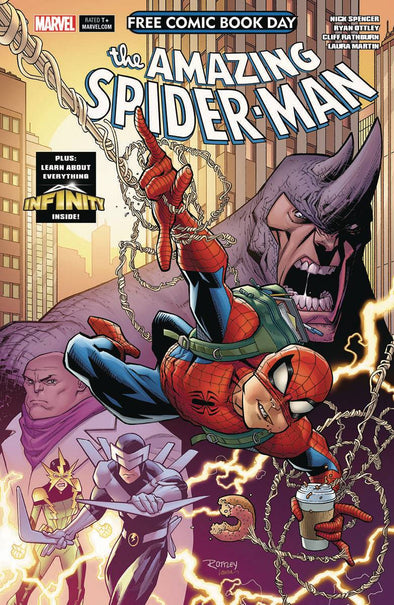 FCBD 2018 Infinity Watch/Amazing Spider-Man
