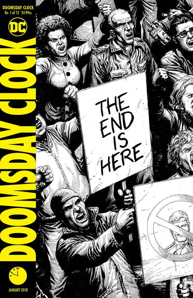 Doomsday Clock (2017) #01 (2nd Printing)
