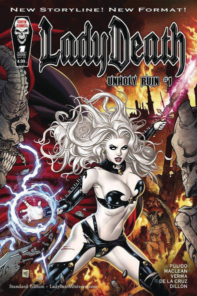 Lady Death Unholy Ruin (2018) #01