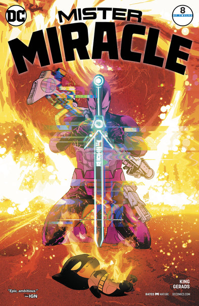 Mister Miracle (2017) #08 (Mitch Gerads Variant)