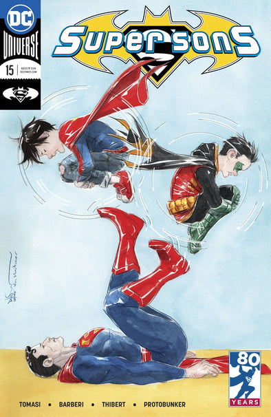 Super Sons (2017) #15 (Variant Cover)