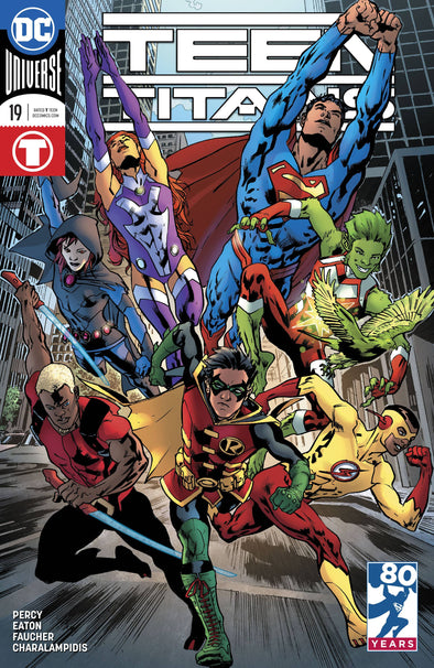 Teen Titans (2016) #19 (Hitch Variant Cover)
