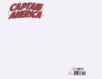 Captain America (2017) #700 (Blank Cover Variant)