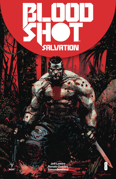 Bloodshot Salvation (2017) #08 (Gerardo Zaffino Variant)