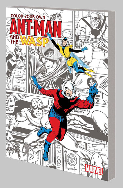 Colour Your Own Ant-Man & Wasp