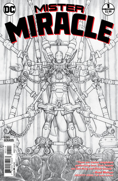 Mister Miracle (2017) #01 (4th Printing)
