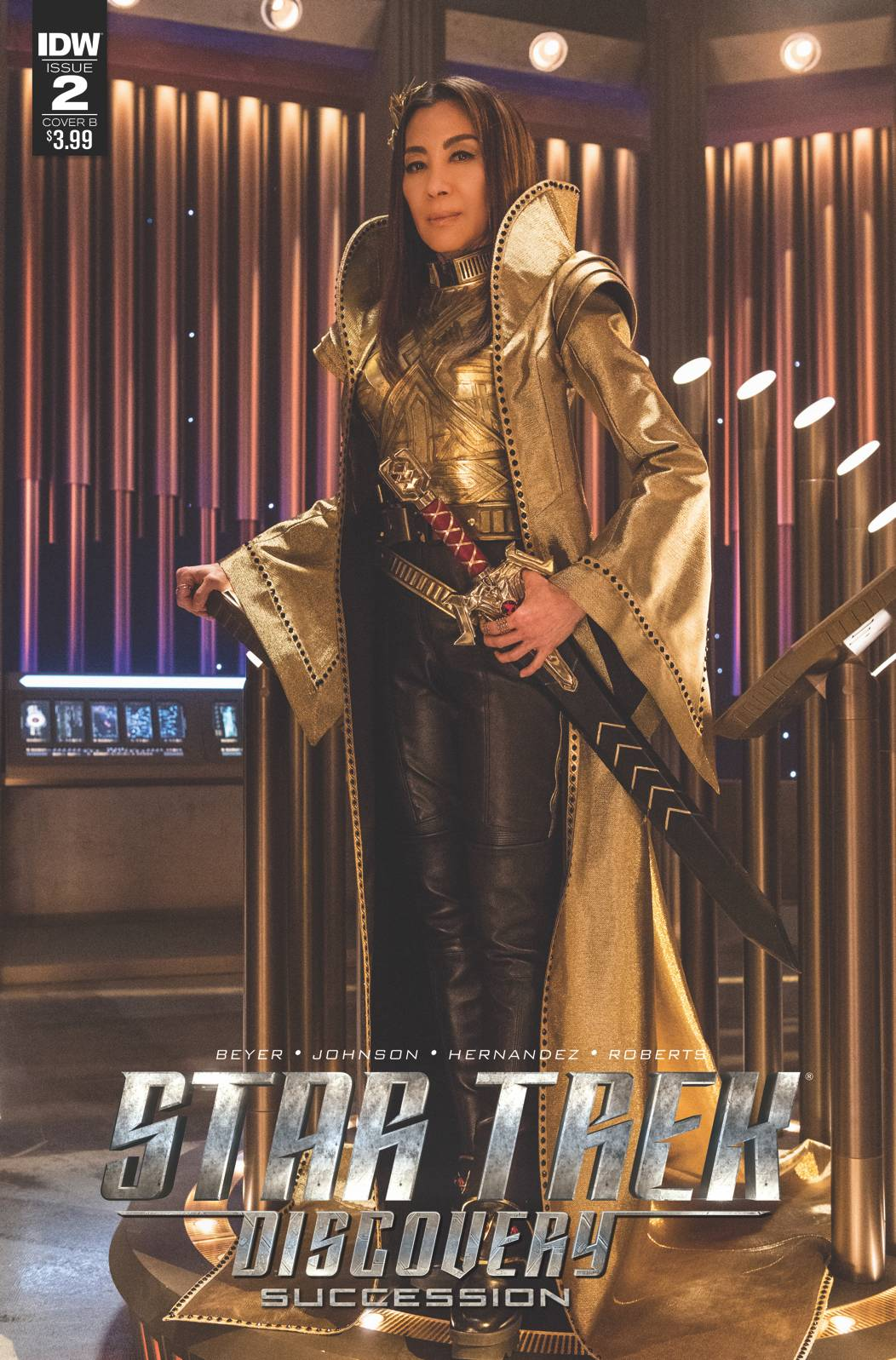 Star Trek: Discovery Succession (2018) #02 (Photo Variant)