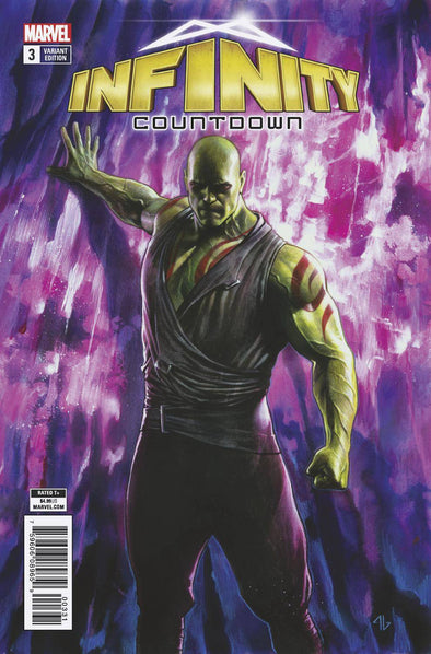Infinity Countdown (2018) #03 (Drax Holds Infinity Variant)