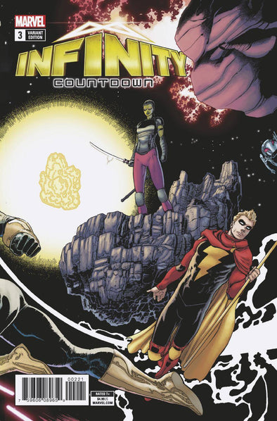 Infinity Countdown (2018) #03 (Kudar Connecting Variant)