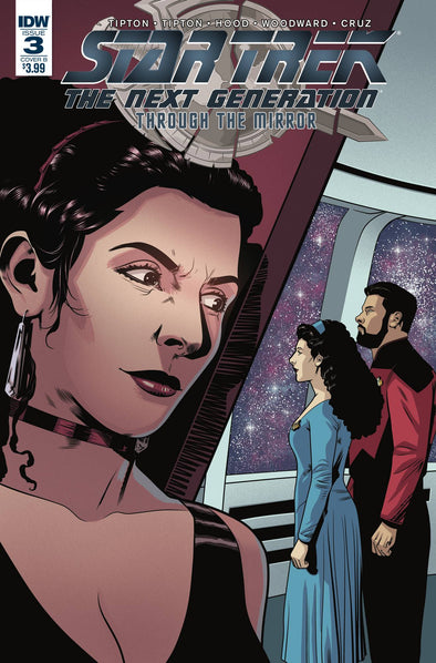 Star Trek TNG: Through the Mirror (2018) #03 (Josh Hood Variant)