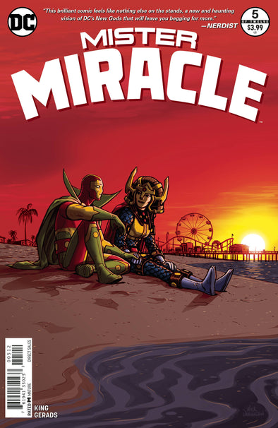 Mister Miracle (2017) #05 (SECOND PRINTING)