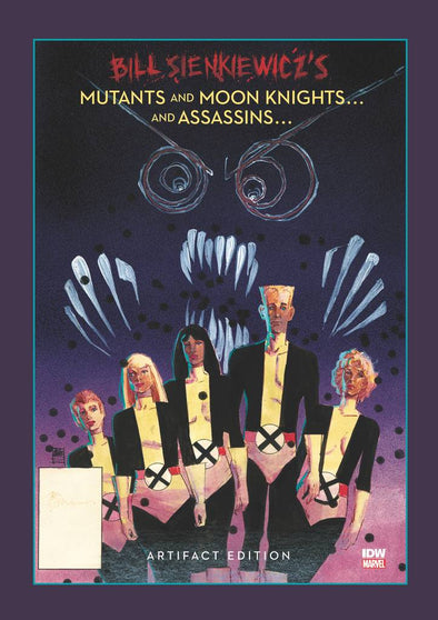 Bill Sienkiewicz Mutants & Moon Knights Artifact Edition HC
