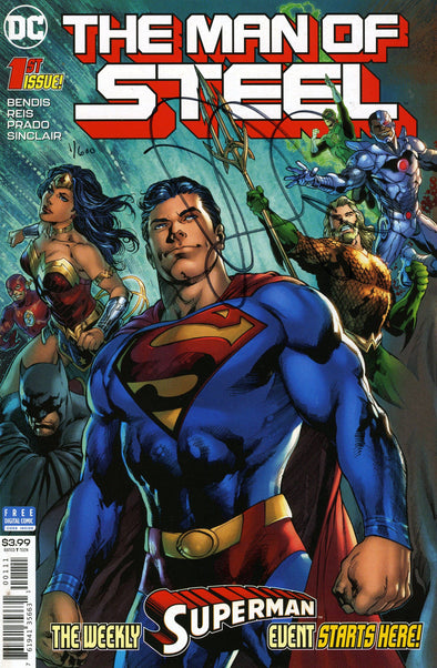 Man of Steel (2018) #01 (DF Signed By Brian Michael Bendis)