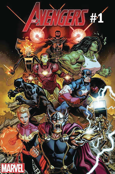 Avengers (2018) #001 (DF Signed by Mark Morales + COA)