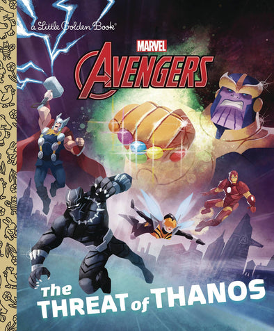 Avengers Threat of Thanos Little Golden Book HC