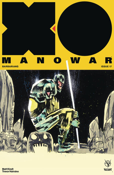 X-O Manowar (2017) #17 (Jim Mahfood Variant)