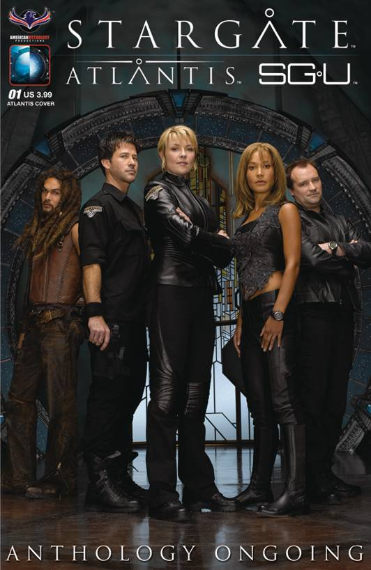 Stargate Atlantis Universe Anthology Ongoing #01