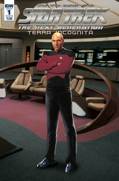 Star Trek TNG: Terra Incognita (2018) #01 (Cover B)