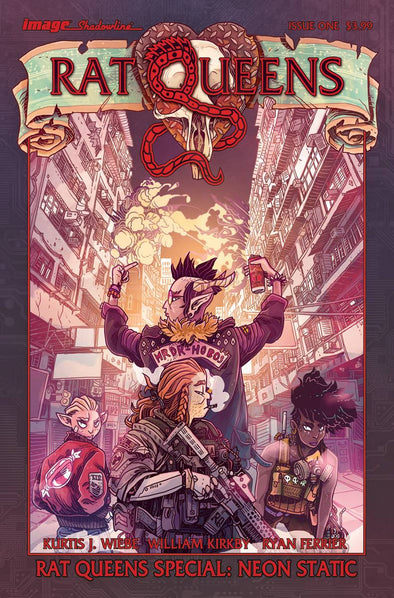 Rat Queens Special Neon Static #01