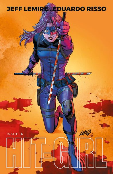 Hit-Girl (2018) #06 (Liefeld Variant Cover)