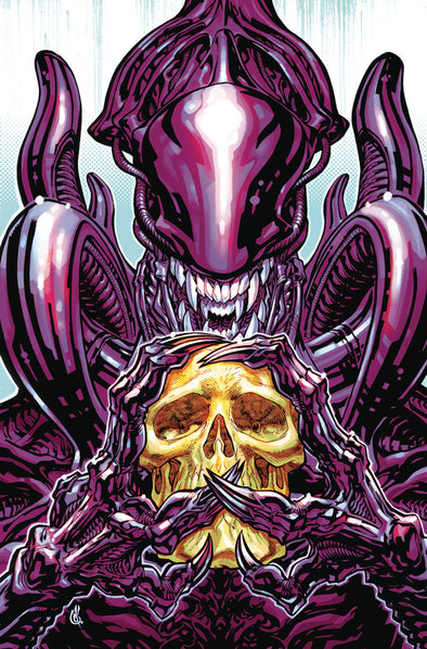 Aliens: Dust to Dust (2018) #04 (D'Anda Variant)