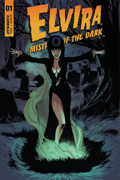 Elvira: Mistress of Dark (2018) #01 (Craig Cermak Variant)