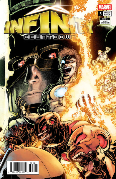 Infinity Countdown (2018) #05 (Aaron Kuder Connecting Variant)