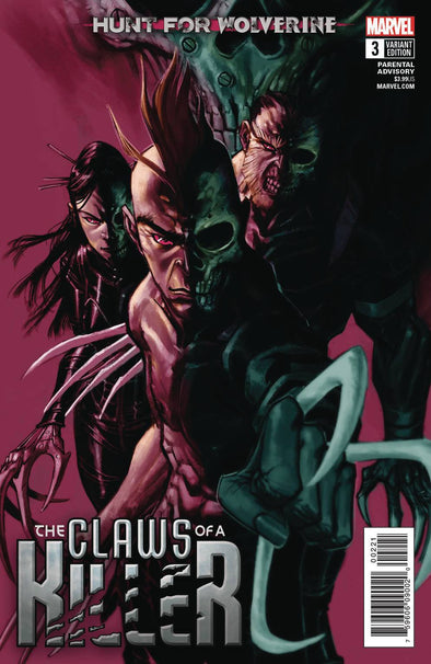 Hunt For Wolverine: Claws of a Killer (2018) #03 (Eric Canete Variant)