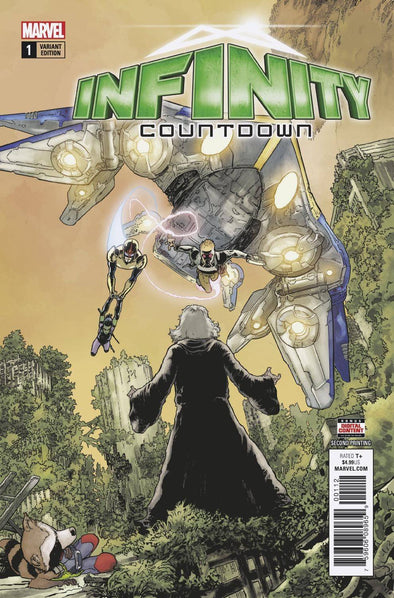 Infinity Countdown (2018) #01 (2nd Printing)