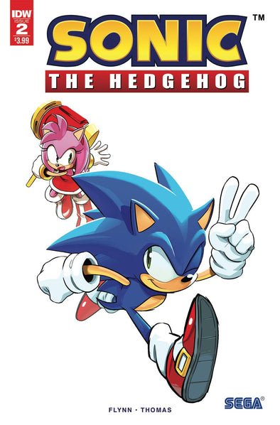 Sonic the Hedgehog (2018) #02 (2nd Printing)