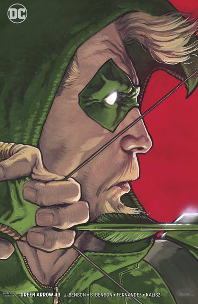 Green Arrow (2016) #043 (Kaare Andrews Variant)
