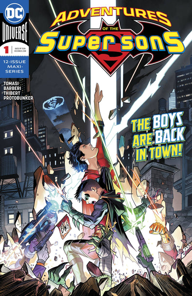 Adventures of the Super Sons (2018) #01