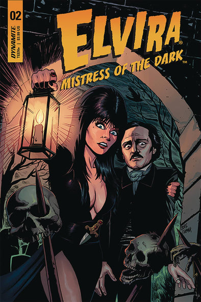 Elvira: Mistress of Dark (2018) #02 (Craig Cermak Variant)