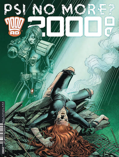 2000 AD Pack September 2018