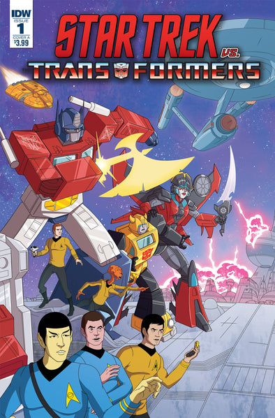 Star Trek vs Transformers (2018) #01