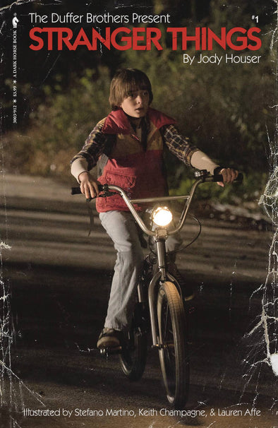 Stranger Things (2018) #01 (Patrick Satterfield Variant)