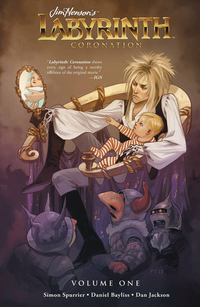 Jim Henson's Labyrinth Coronation TP Vol. 01