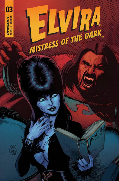 Elvira: Mistress of Dark (2018) #03 (Craig Cermak Variant)