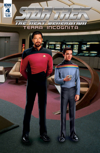 Star Trek TNG: Terra Incognita (2018) #04 (Photo Variant)